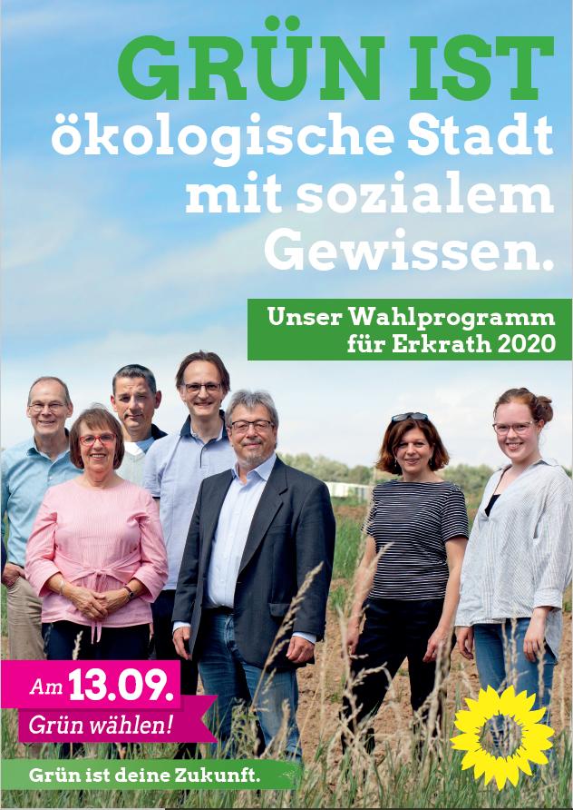 Grünes Wahlprogramm 2020